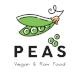Peas vegan & raw food