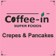 Coffee in superfoods crepes & pancakes